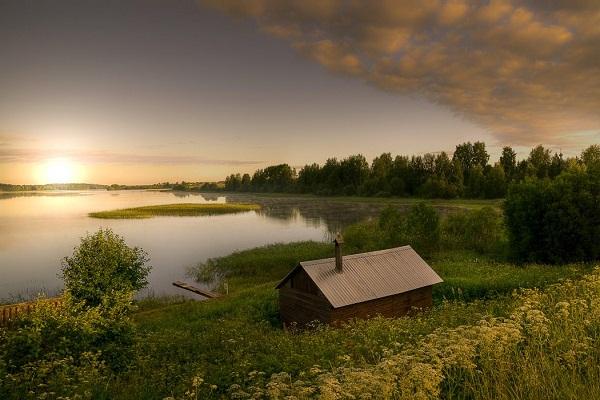 На Ферапонтовском озере