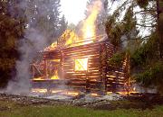 Пожар на горе Маура
