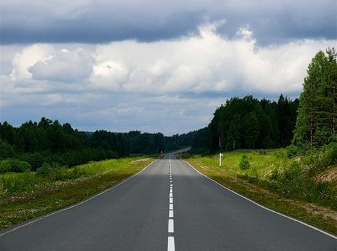 Дорога, проходящая по территории национального парка Русский Север