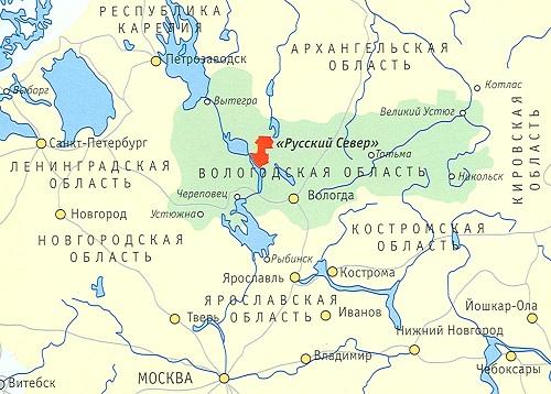 Месторасположение национального парка