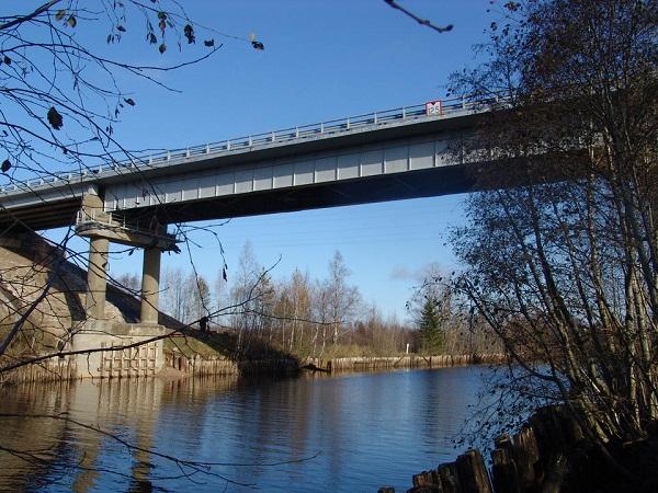 Реконструкция моста через Кишемский канал