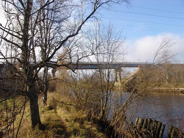 Ремонт моста через Кишемский канал