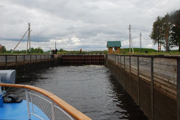 Шлюз №4 на Кишемском канале