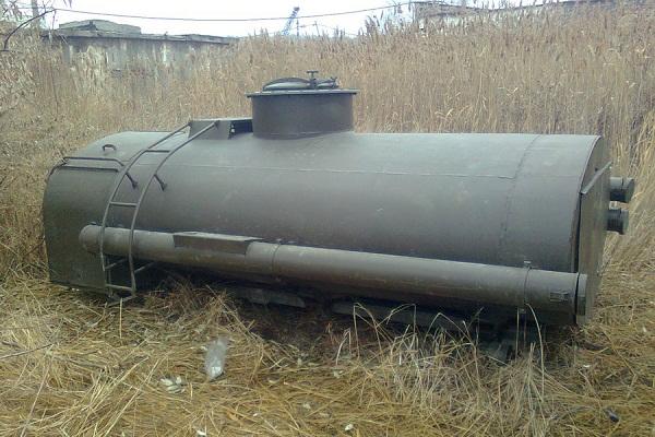 Цистерна солярки привела к экологической катастрофе