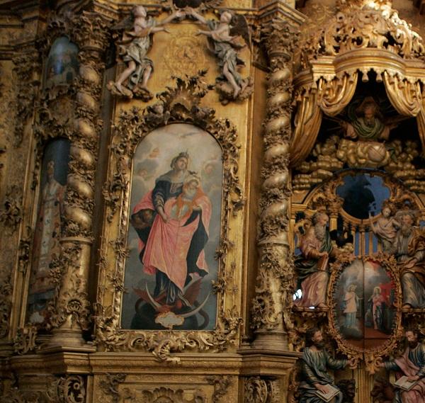Иконостас Троице-Гледенского монастыря