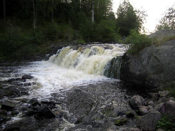 Водопад Падун