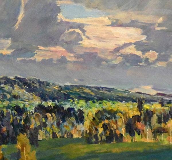 """Картина """"Осень на Цыпиной горе"""" Автор: Студенцов Борис Анатольевич"""