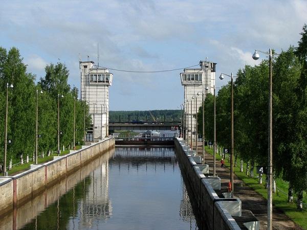 Волго-Балтийский канал, шлюз №1