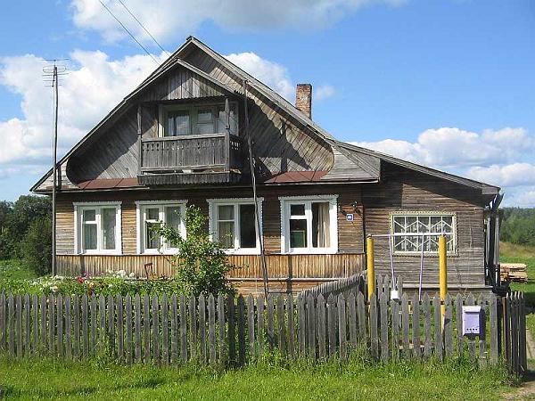 Дом в селе Ферапонтово
